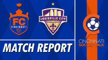 Match Report: FC Cincinnati vs. Louisville City FC