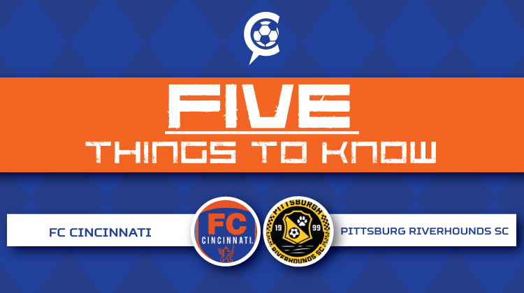 FC Cincinnati at Pittsburgh Riverhounds SC: 5 Things to Know - US Open Cup