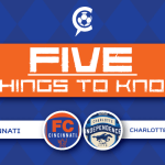 FC Cincinnati at Charlotte Independence: 5 Things to Know