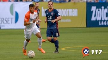 FC Cincinnati's Emery Welshman Visits CST