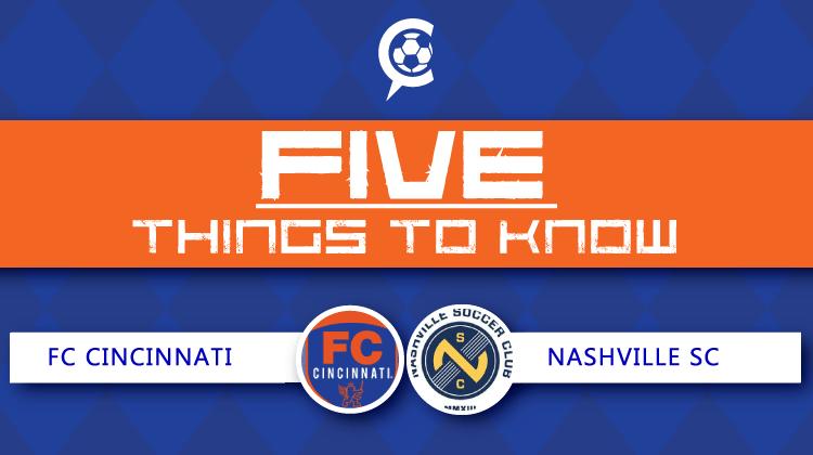 5 Things to Know: Nashville SC vs. FC Cincinnati