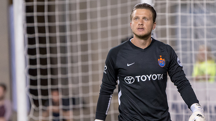 Stern, Competition Are Key For FC Cincinnati Goalkeepers