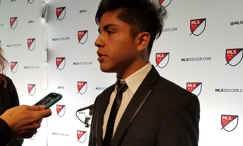 Fc Cincinnatis Top Superdraft Pick Frankie Amaya Will Be On The 18 Man Roster For Saturdays Match Against The Philadelphia Union Coach Alan Koch Told