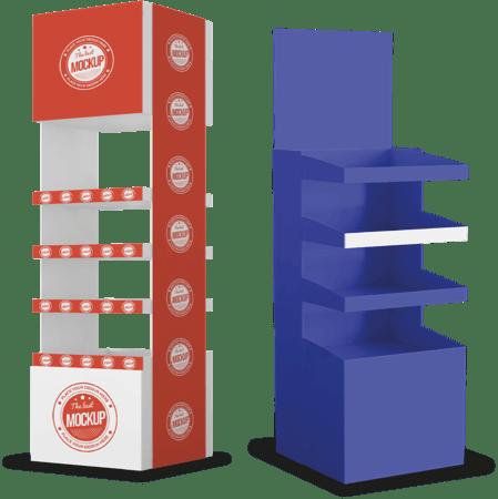 Mubles para retail y stand publicitarios