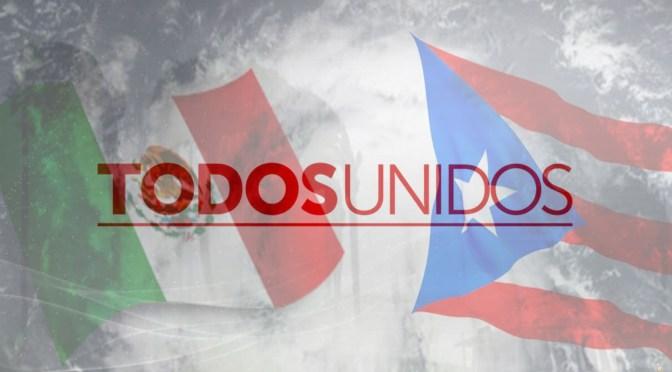 LAS CAUSAS DEL MES DE OCTUBRE: DEDICADAS A LAS VÍCTIMAS DE MÉXICO Y PUERTO RICO