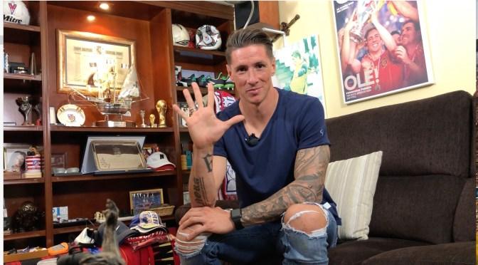 ESCRIBE TU RELATO DE MARZO (IV): Fernando @Torres, jugador del @Atleti