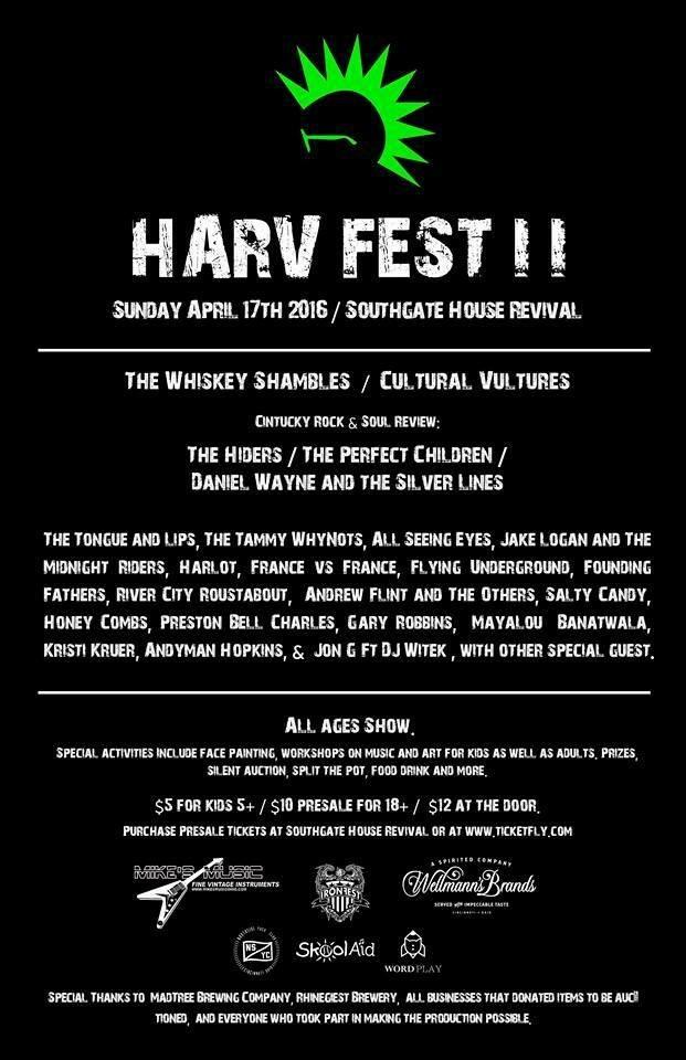 HarvFest II A Benefit For DJ Harvination CincyMusic