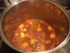 Beef Stew Recipe - I love beef stew, but it takes forever to prep and cook it. I found a way to speed up the process without sacrificing the taste. By using canned potatoes and carrots you eliminate a lot of peeling and cutting in addition to time.
