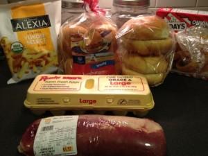 Pork Tenderloin Sandwiches Recipe - I used 2 pounds of pork tenderloin and made 10-12 sandwiches