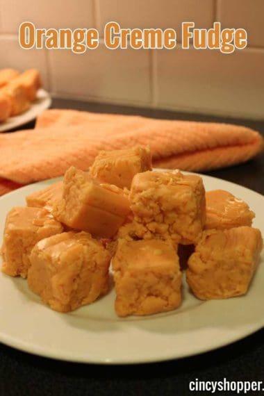Orange Creme Fudge