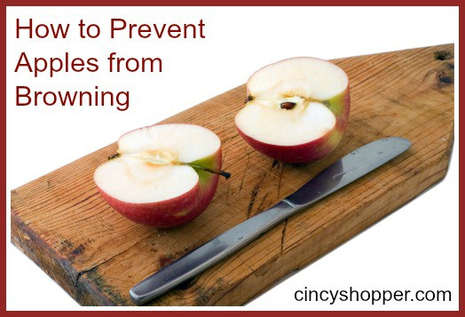 How to Prevent Apples from Browning