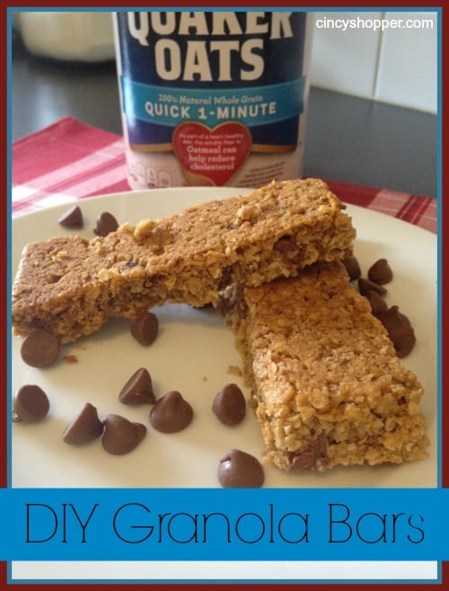 DIY Granola Bars Recipe