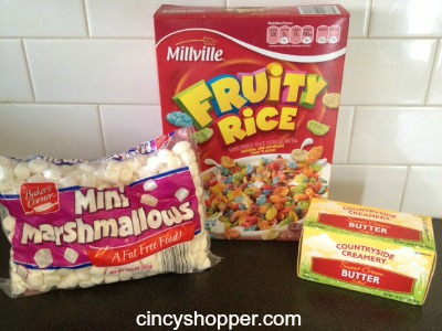 Diy Fruity Pebbles Cereal Bars