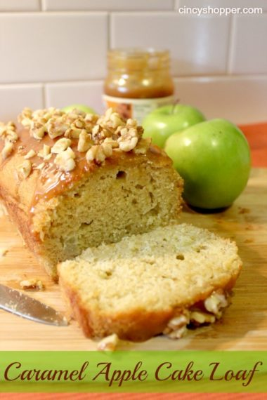 Caramel Apple Cake Loaf