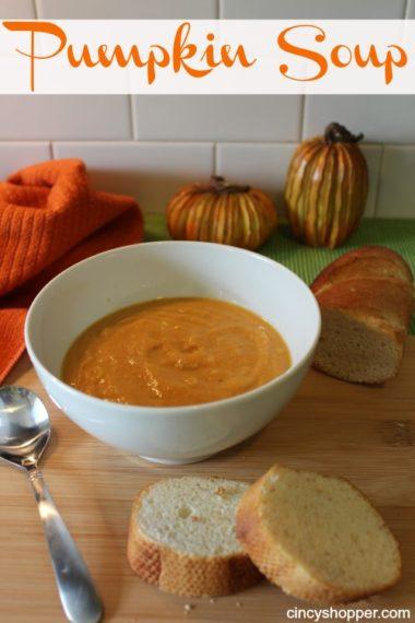 Quick & Easy Pumpkin Soup Recipe