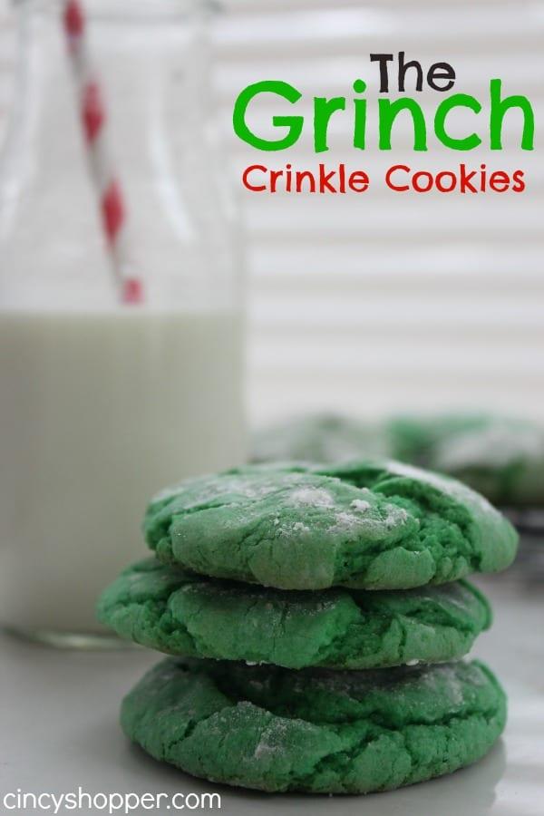 Grinch-Crinkle-Cookies