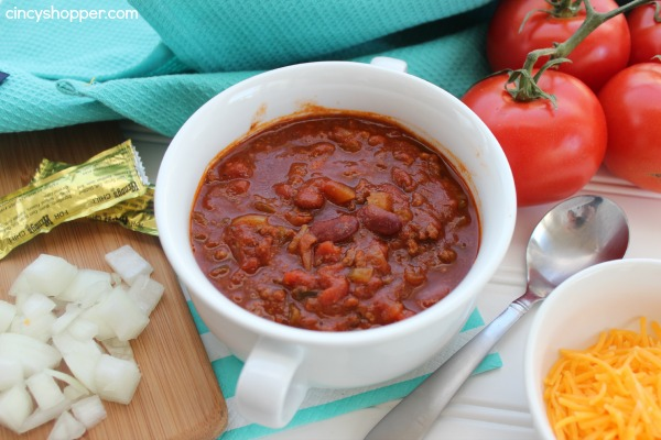 CopyCat Wendy's Chili. A PERFECT copycat recipe. Save $$'s and make yummy Wendy's Chili at home.