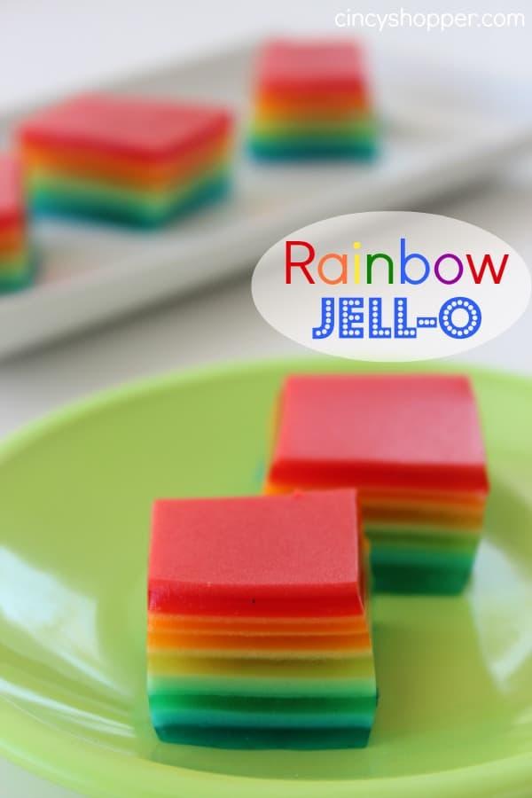 Rainbow-Jell-O