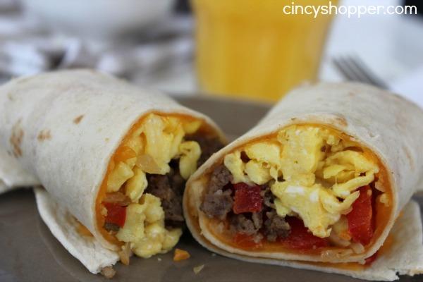 Breakfast Burrito Recipe 2