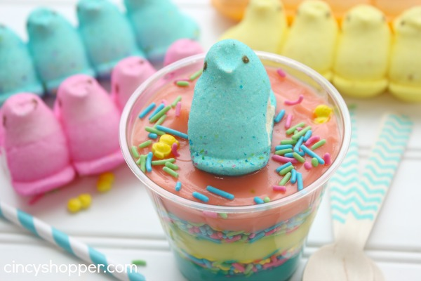 Easter PEEPS Pudding