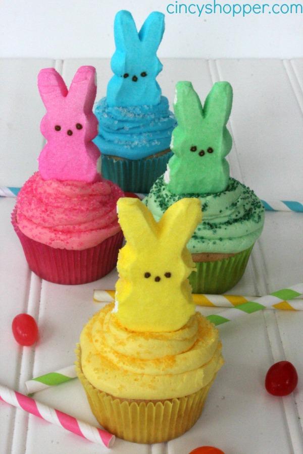PEEPS Cupcakes Recipe 1