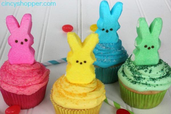 PEEPS Cupcakes Recipe 6
