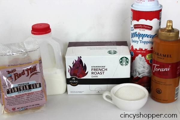 CopyCat Starbucks Caramel Frappuccino Recipe 5