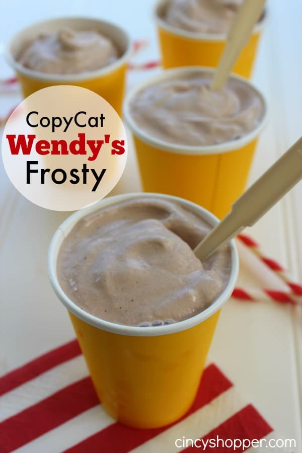 CopyCat Wendy's Frosty - Super simple to make right at home.