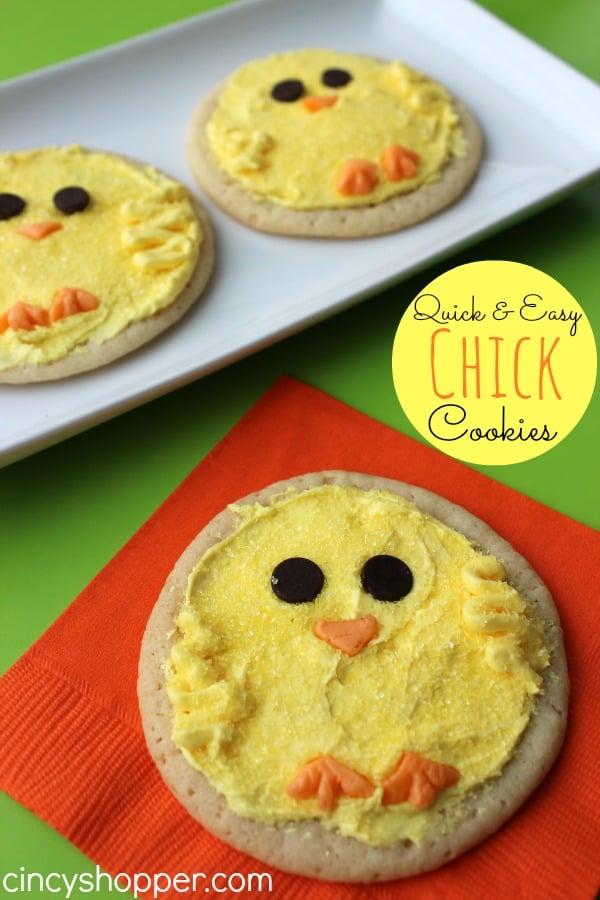 Easter Chick Sugar Cookies Recipe
