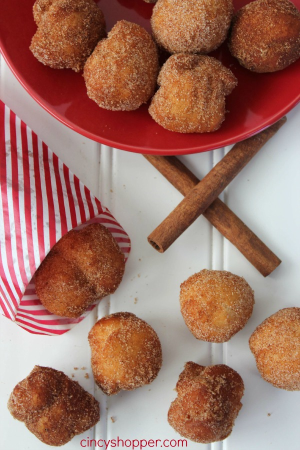 Easy Cinnamon Sugar Donut Bites 5