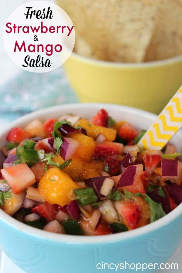 Fresh Strawberry mango Salsa Recipe