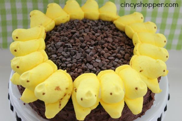 PEEPS Sunflower Cake 5