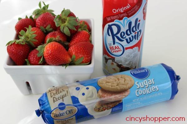 Strawberry Shortcake Cookie Cup Recipe