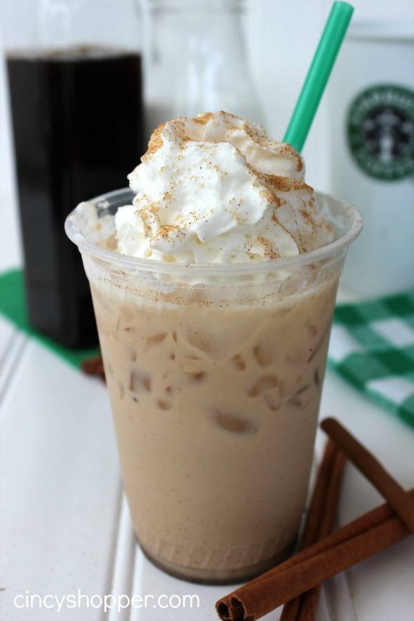 Copycat Starbucks Iced Cinnamon Dolce Latte Recipe Cincyshopper