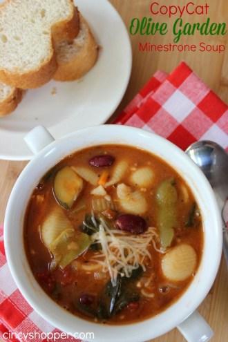 olive garden minestrone recipe