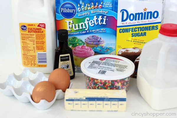 Funfetti Donuts Recipe 2
