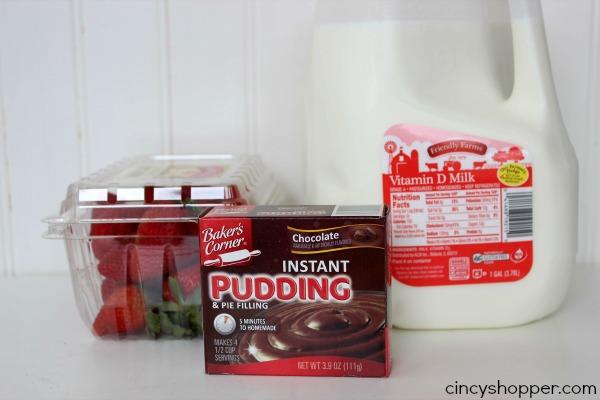 Strawberry Chocolate Pudding Pops Recipe 2
