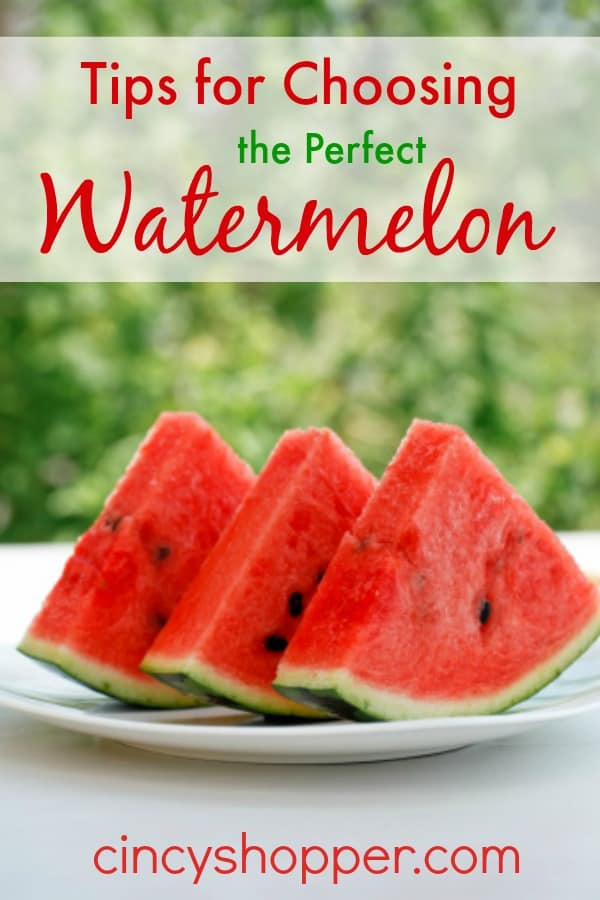 Tips for Choosing the Perfect Watermelon