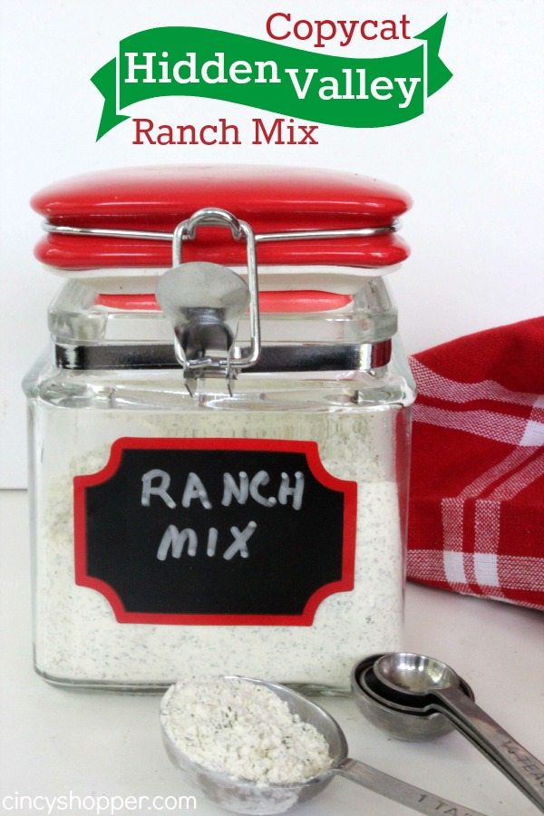 Copycat Hidden Valley Ranch Mix Recipe 1