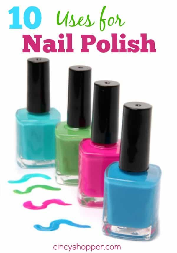 10 Uses for Nail Polish