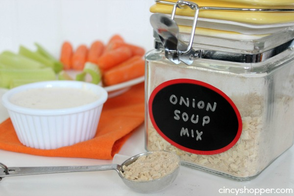 Copycat Lipton Onion Soup Mix - Easy to make homemade. Great to use for dips, cooking and more!