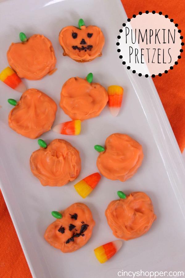 Pumpkin Pretzels Recipe 1