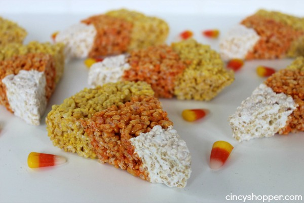 Candy Corn Rice Krispies Recipe 4