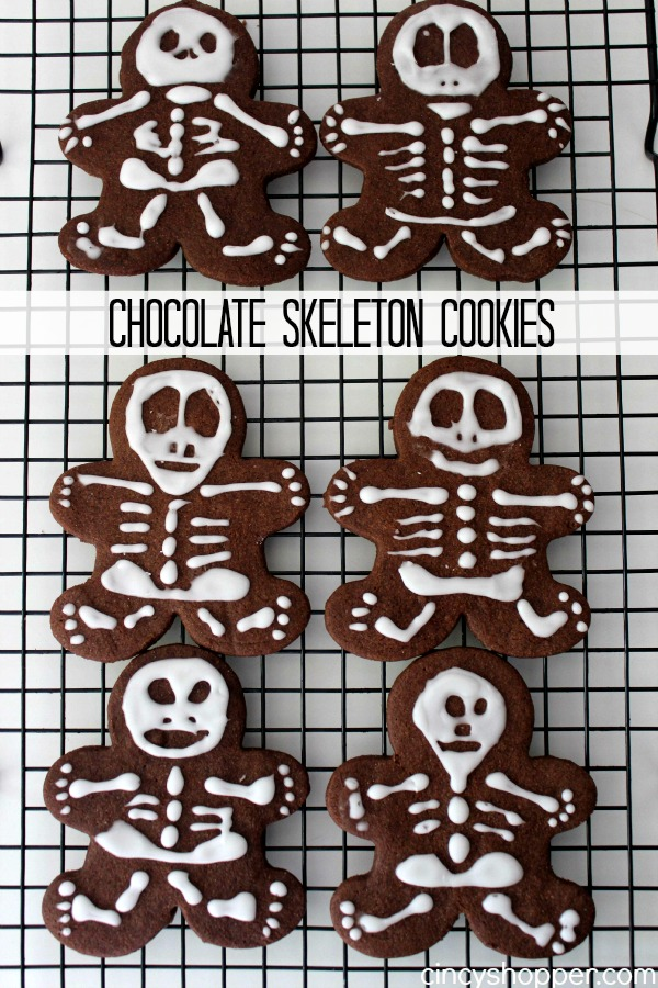 Chocolate Skeleton Cookie Recipe