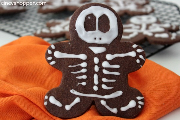 Chocolate Skeleton Cookies Recipe 6