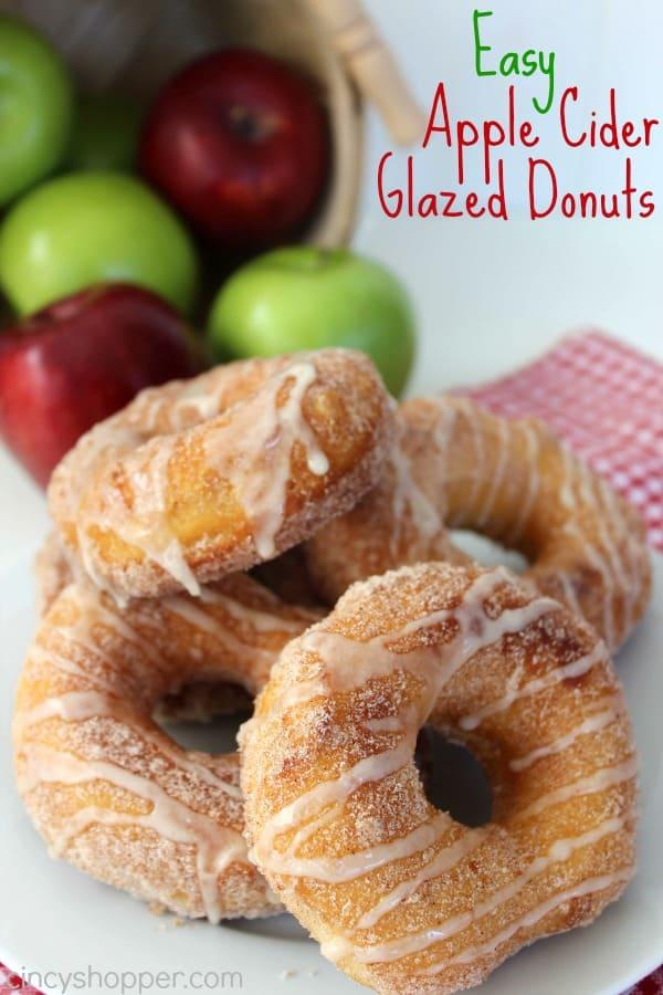 Easy Apple Cider Glazed Donuts Recipe