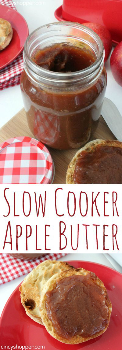 Slow Cooker Apple Butter Long Pin