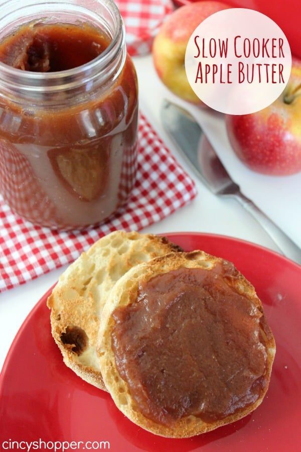 Slow Cooker Apple Butter Recipe