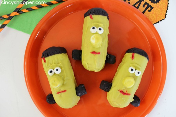 Twinkie Frankenstein Treats Recipe 3