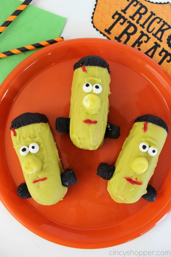 Twinkie Frankenstein Treats